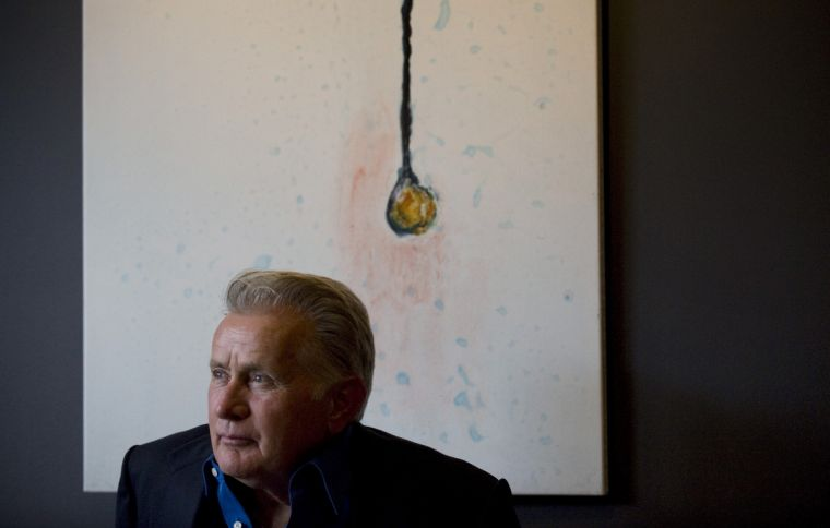 US actor Martin Sheen poses for a portrait to promote the film