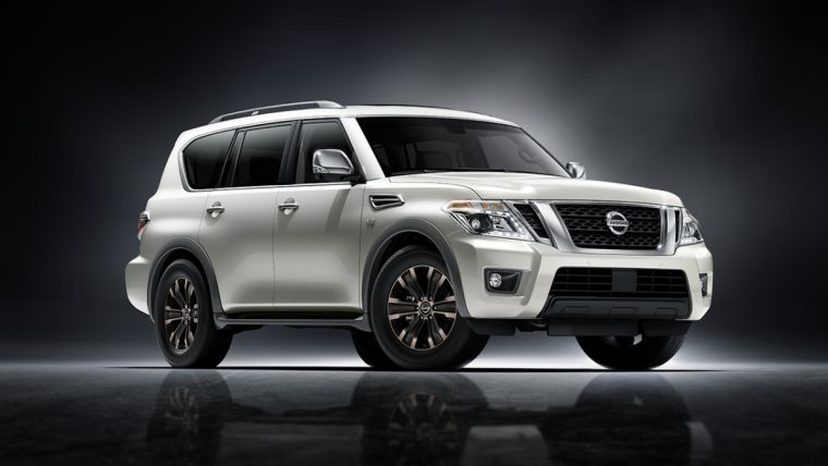 2017 nissan armada release date big body on frame suv with 8 500 pounds of towing capacity to. Black Bedroom Furniture Sets. Home Design Ideas