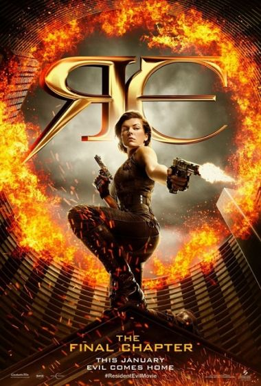 Resident Evil The Final Chapter Movie Spoilers News Official