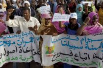 anti-slavery-protesters-in-mauritania