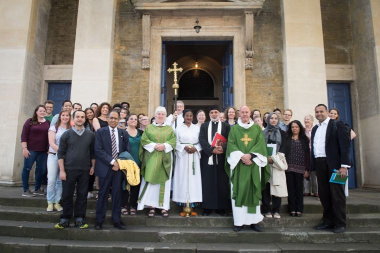 St John on Bethnal Green welcomes Muslims to Sunday Service