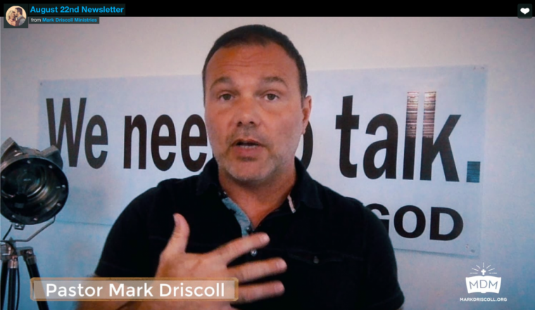 Pastor Mark Driscoll's latest video is on polygamy