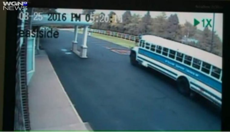 Boy steals church bus