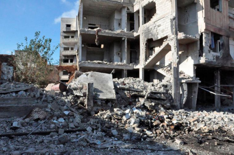 Explosion in Homs