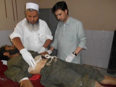 Suicide attack victim