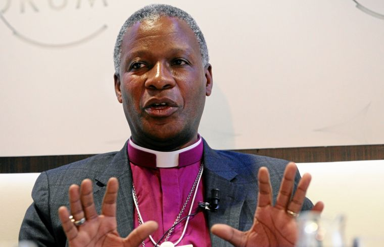 Thabo Cecil Makgoba, Archbishop the Anglican Church of Southern Africa, at the Annual Meeting of the World Economic Forum last year.