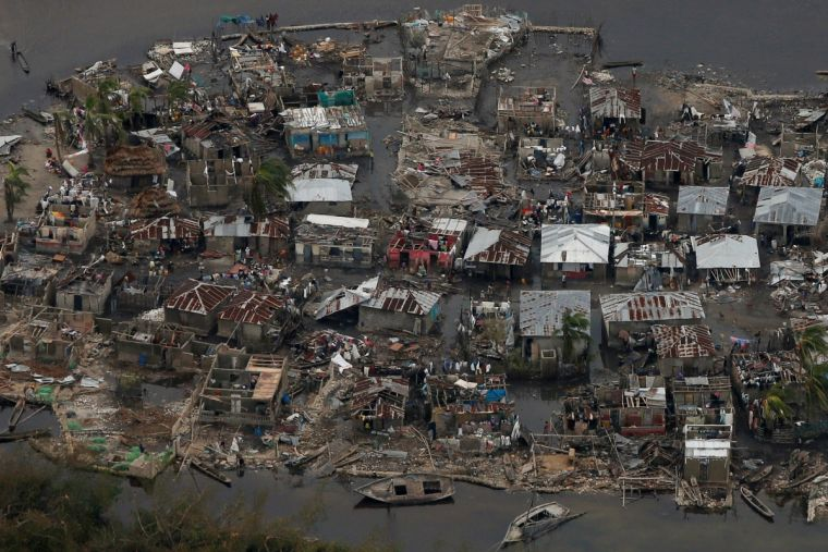 Haiti after Hurricane Matthew