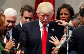 Donald Trump's evangelical support plunges 17 points in 10 months