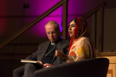 Malala Yousafzai and Archbishop of Canterbury