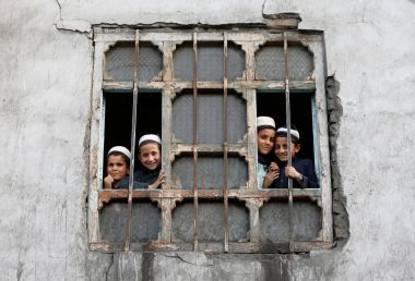 Pupils at a Madrassa in Kabul