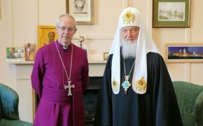Archbishop Welby and Patriarch Kirill come together over persecuted Christians in Middle East