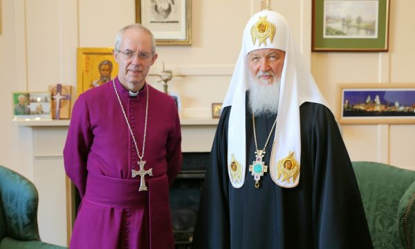 Archbishop of Canterbury in Moscow for meetings with 'senior political figures'