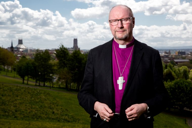 Bishop of Liverpool Paul Bayes