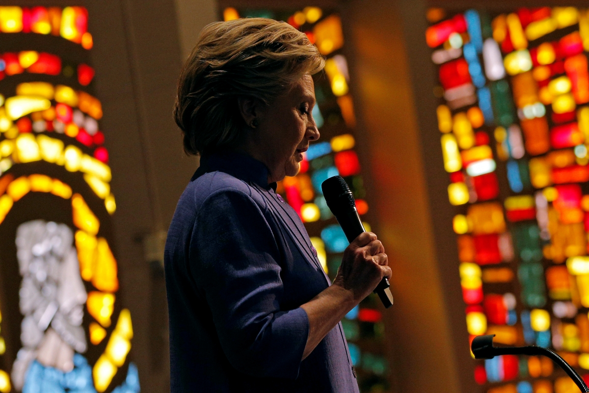 The email Hillary Clinton's pastor sent her the day after the election