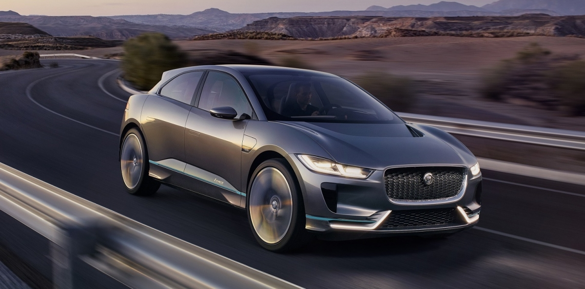 jaguar i pace electric car release date news 2016 vehicle rivals the tesla model x launches in. Black Bedroom Furniture Sets. Home Design Ideas