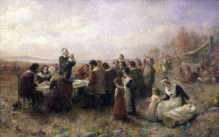 First Thanksgiving in America