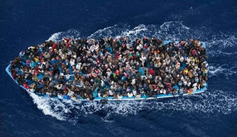 Mideast migrants headed for Europe