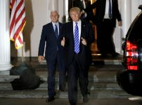 donald-trump-and-mike-pence-depart-the-main-clubhouse-at-trump-national-golf-club