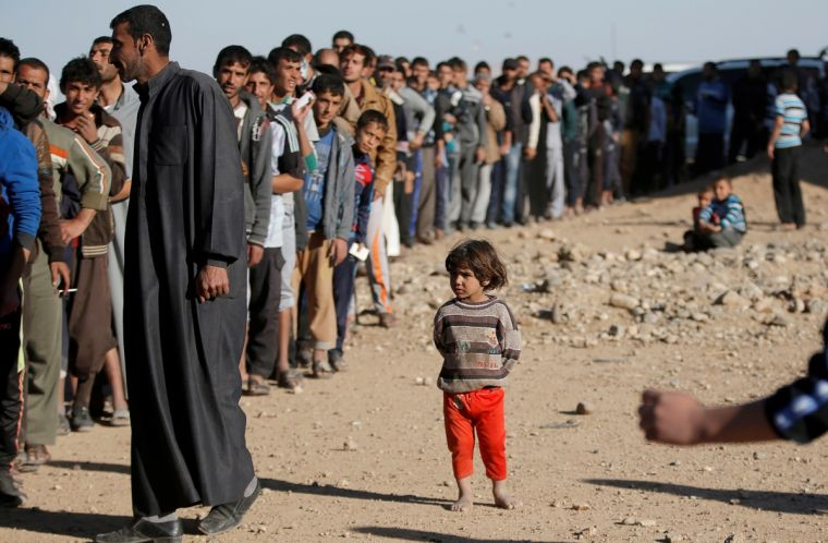 IDPs forced from Mosul