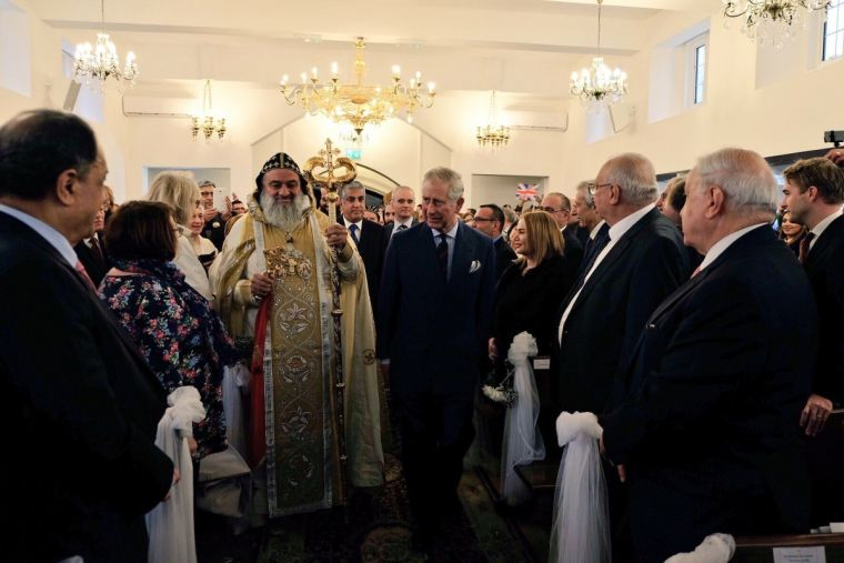 The Prince of Wales at the consecration of the new St Thomas Cathedral Syriac Orthodox Church in London