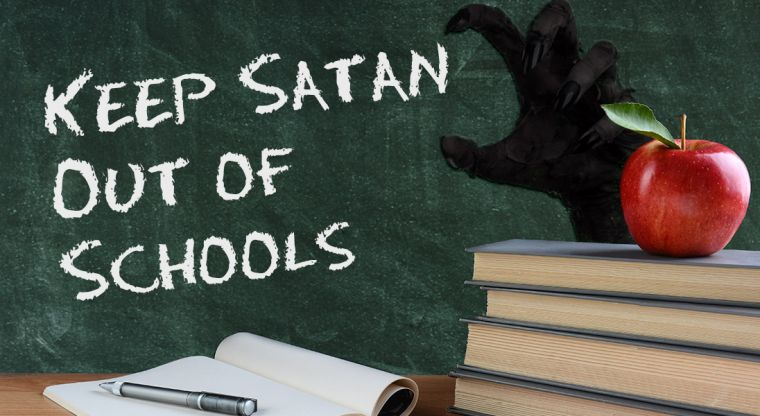 Keep Satan Out Of Schools petition