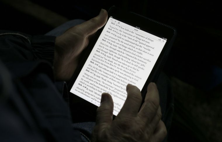 The Digital Bible: a help, or a hindrance?