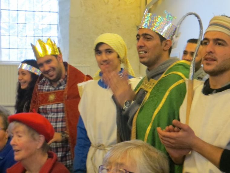 Former Muslims celebrating their first Christmas as Christians