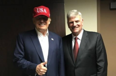 Donald Trump and Franklin Graham