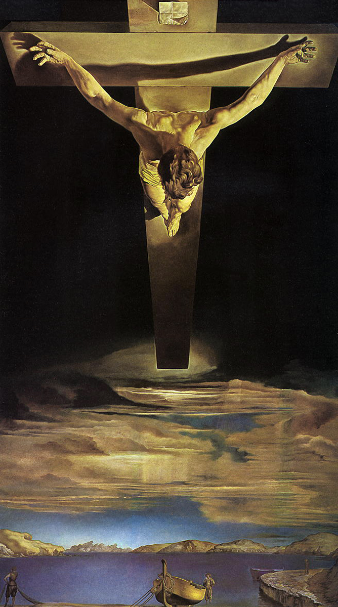 Dali Christ of Saint John of the Cross