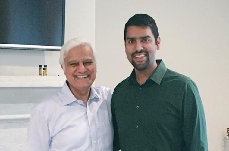 Dr. Ravi Zacharias with Nabeel Qureshi