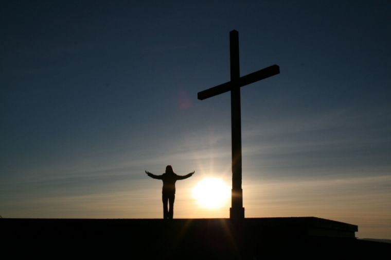Christian and the Cross