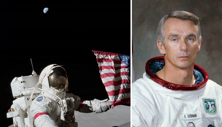 'There's a God Up There': Last Man on the Moon Who ...