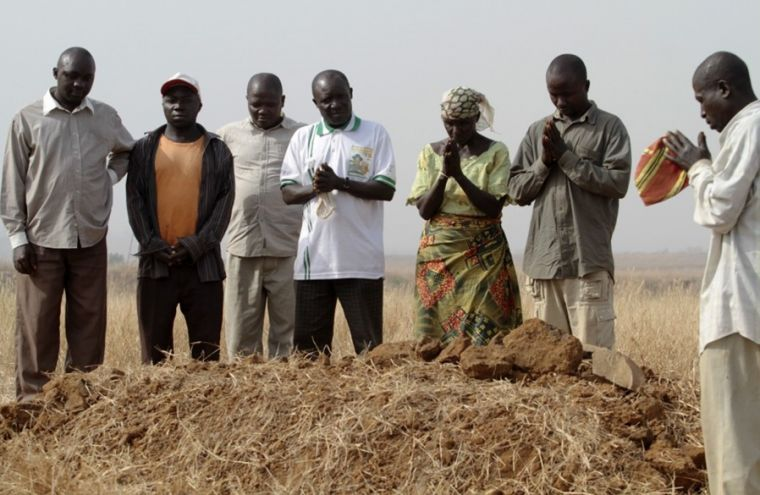 Christians praying for Fulani victims