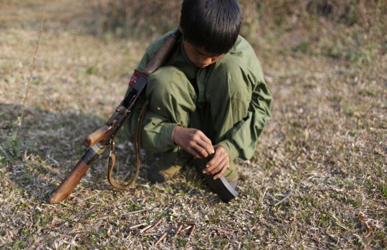 myanmar child soldier