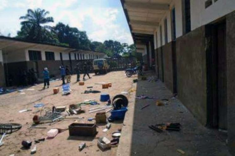 Congo seminary attack