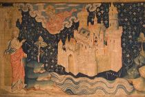 john-of-patmos-watches-the-descent-of-new-jerusalem-from-god-in-a-14th-century-tapestry
