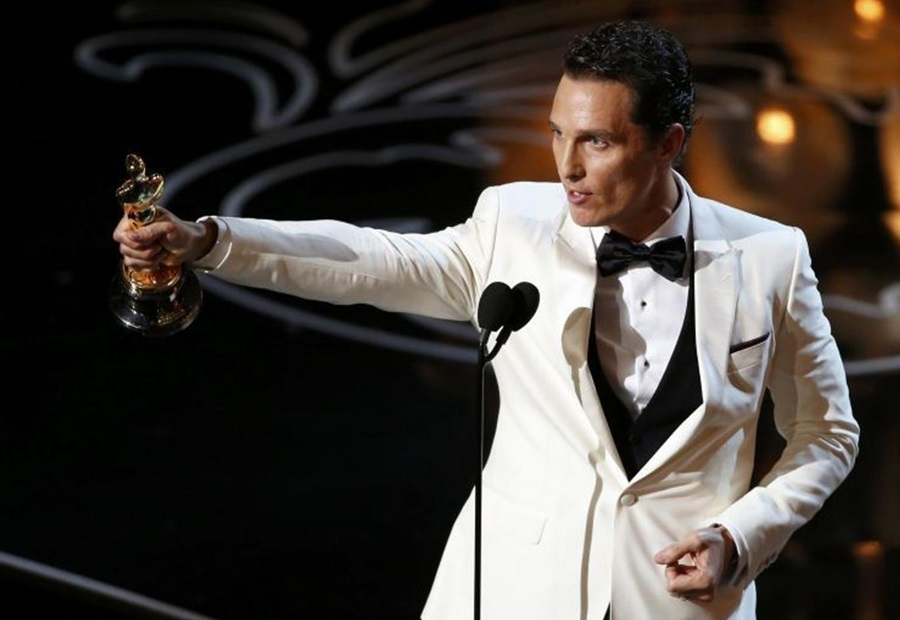 Matthew McConaughey Says Son Levi's Name Has Significant Biblical Meaning