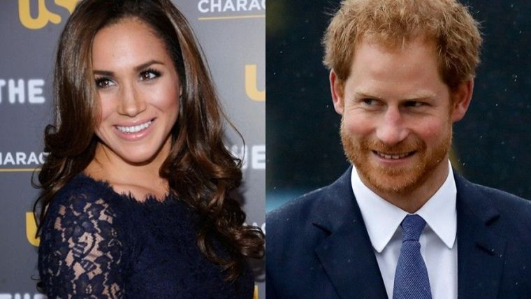 Prince Harry and his girlfriend Meghan Markle