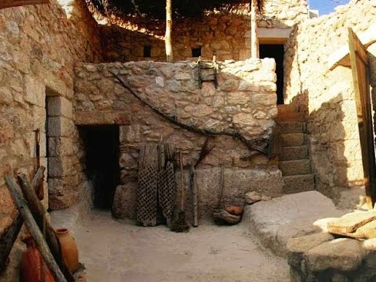 Jesus house in Nazareth