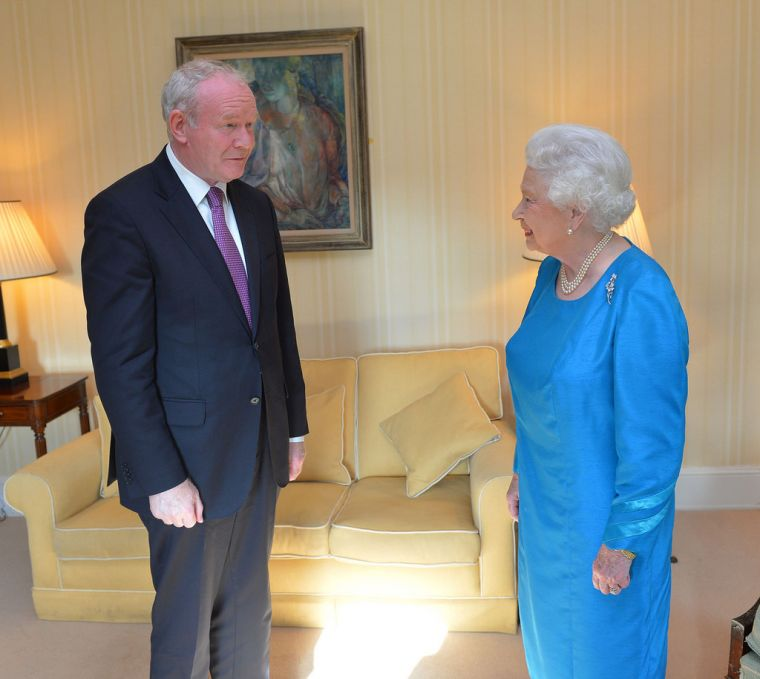 Queen and Martin McGuinness