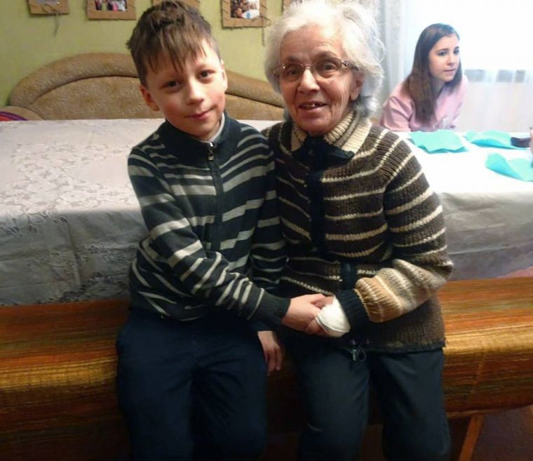 A regular visitor to the CCI Senior Center, Anna was recently paired with 10 year-old Andre,