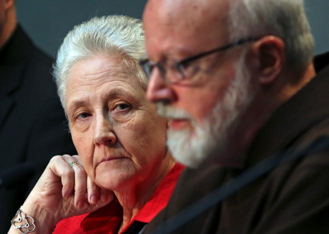Marie Collins Cardinal O'Malley