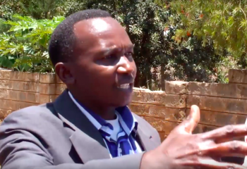 Pastor Githumba prays for his wife to be resurrected