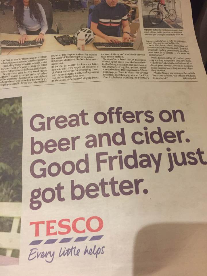 Tesco Good Friday ad