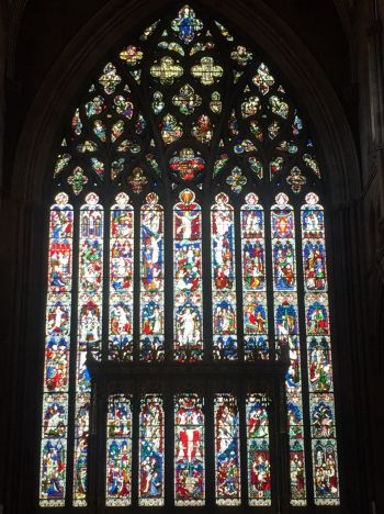 The East Window of Carlisle Cathedral
