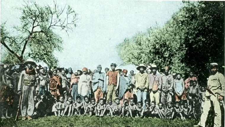 Herero prisoners of war