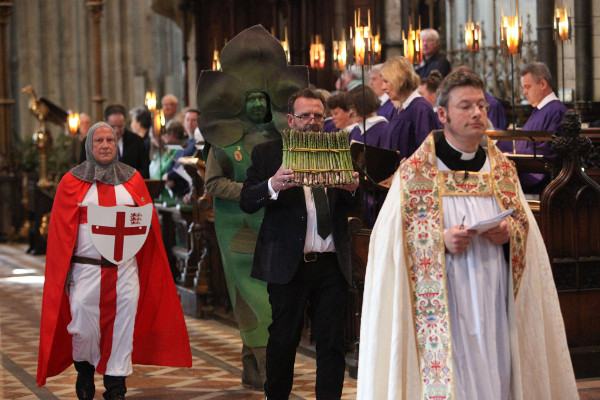 Asperging The Asparagus: Why The Church Of England Is