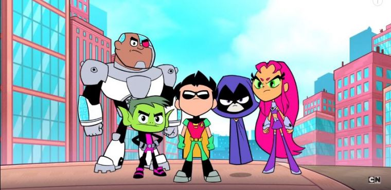 Teen Titans Go Movie Scheduled For July 2018 Premiere -3734