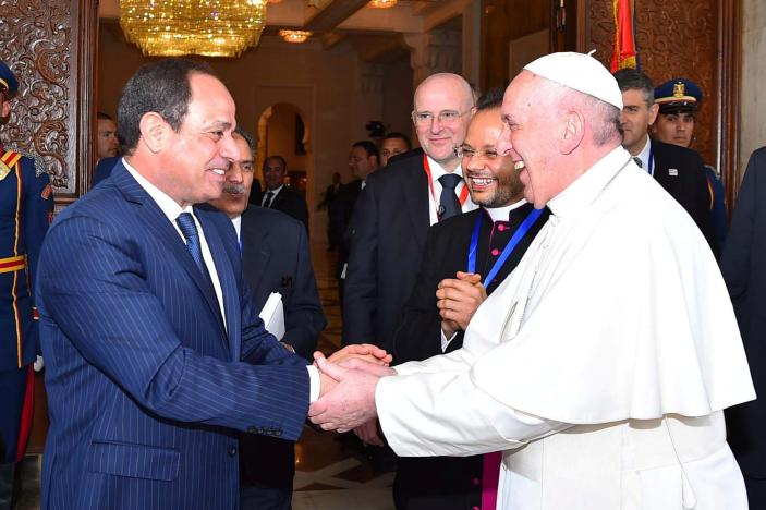 """Pope Francis in Egypt: 'Let us say """"No"""" to violence in God ..."""