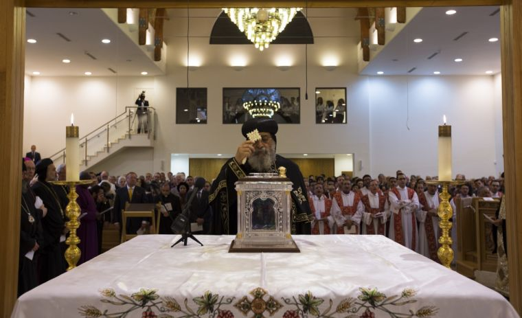 Coptic Pope Tawadros II Official Vespers Service